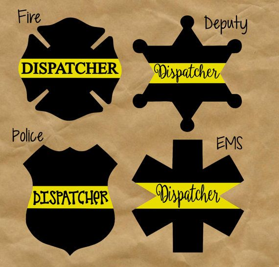 maybe get the sheriff star as my next tattoo????  Dispatcher Thin Gold Line Decal Yeti by TwistedOakRoo on Etsy