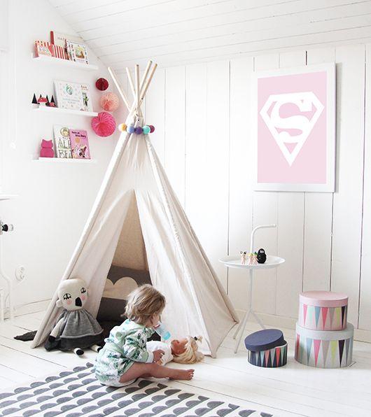 Decoración infantil habitación niña, idea de Deco&Kids | \'En la cama ...