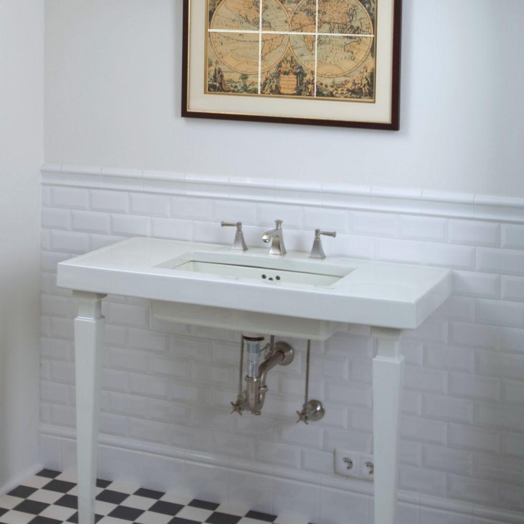 Chair Rail Tile Inside Corner Part - 40: Dado Rail Bathroom - Google Search