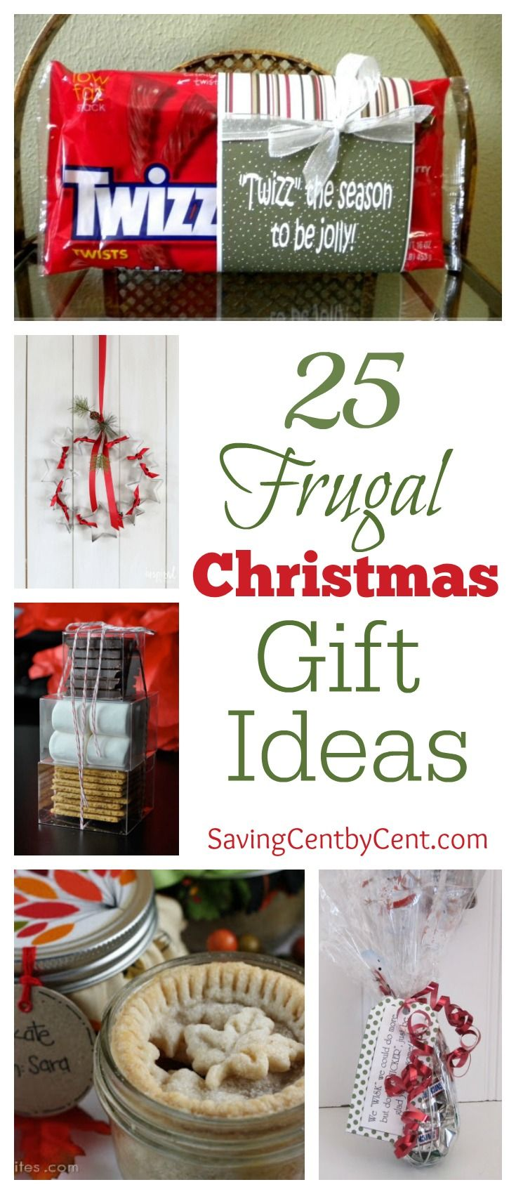 25 Frugal Christmas Gift Ideas (Part 1 Frugal christmas