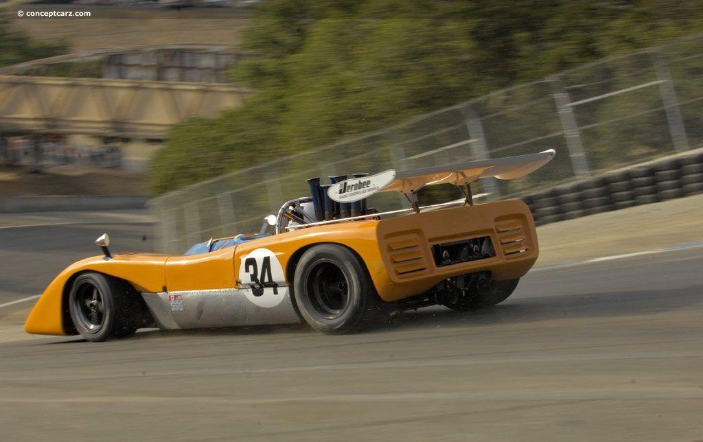 1970 McLaren M8C at the Monterey Historic Races at Laguna Seca ...