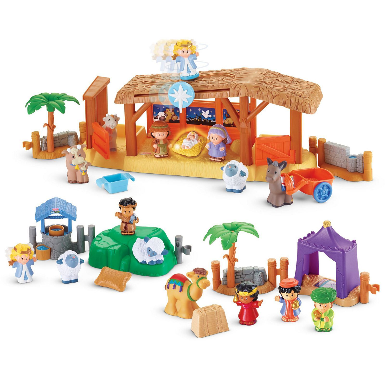Little People Nativity Gift Set BKB40 Fisher Price