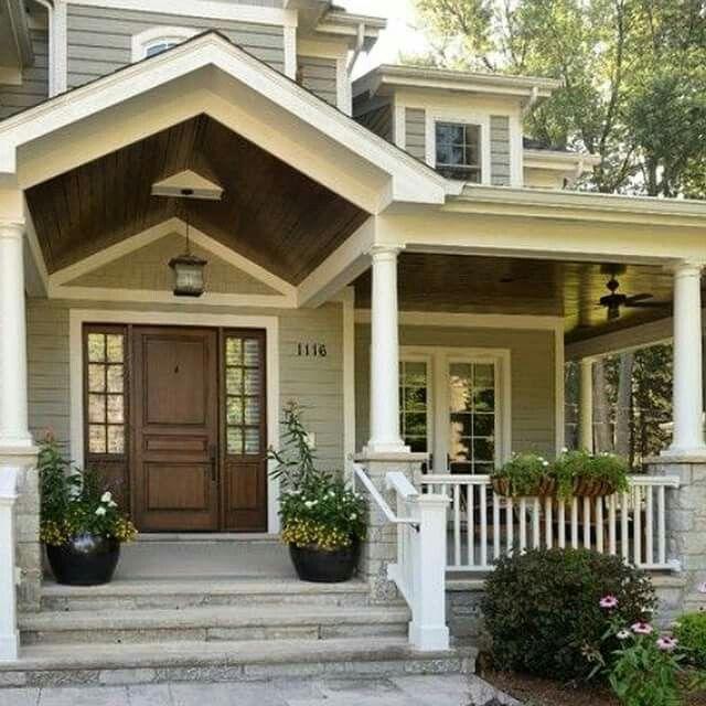 Fresh Front Porch Siding Ideas