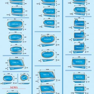 olympic swimming pool sizes and shapes
