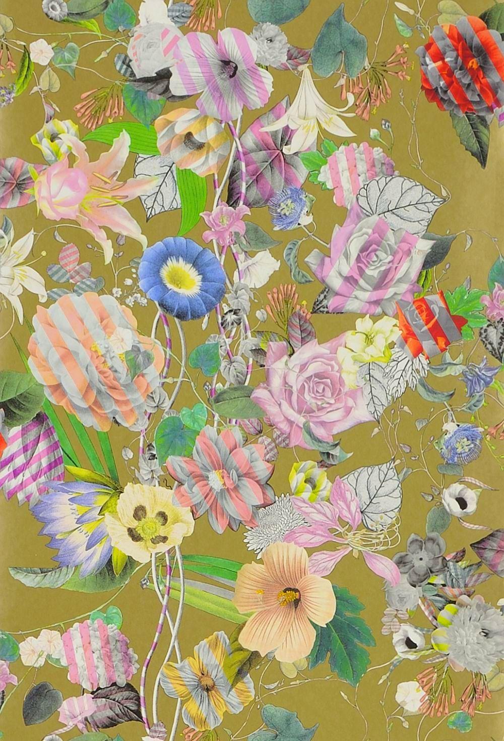 Malmaison by Christian Lacroix Or Wallpaper PCL695