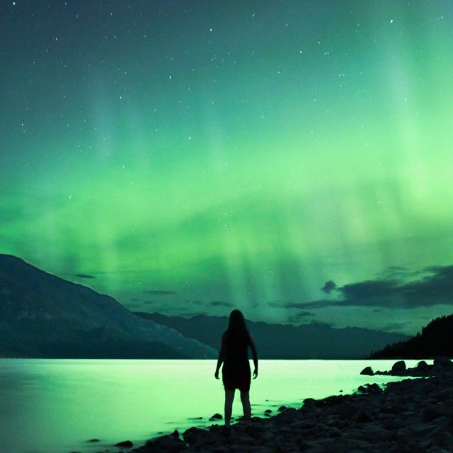 """""""Throwback Thursday to the first (and only time so far) I got to see the northern lights, over 2 years ago now.  It was one of the most magical nights of…"""""""