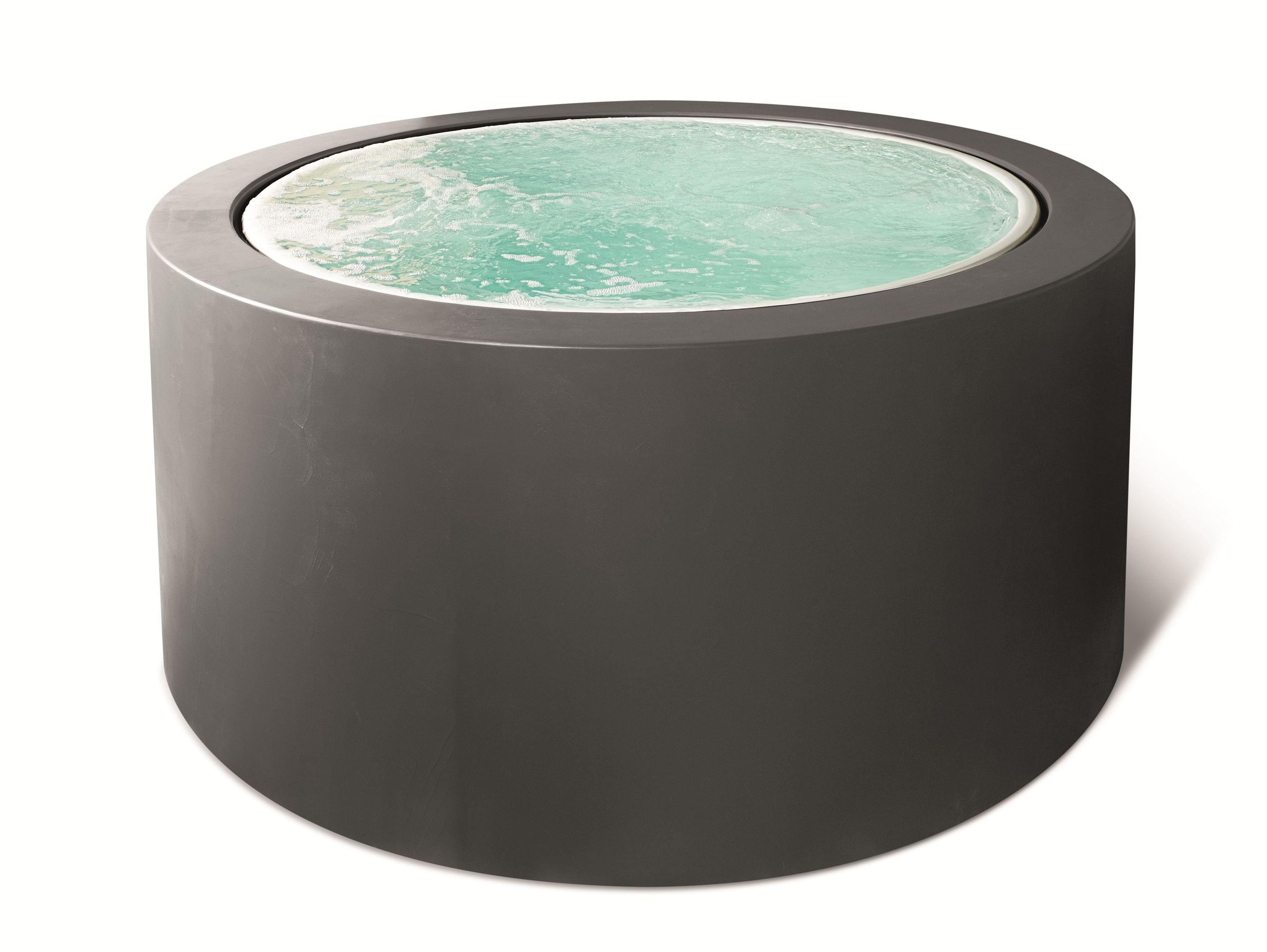 MINIPOOL Hot tub 5 seats by Kos by Zucchetti design Ludovica