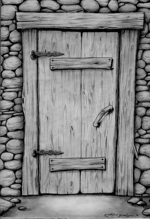 doorway drawing   Hmm, maybe I should have posted this in Green Dragon btw... lo...