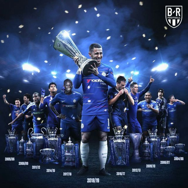 Legends of Chelsea Football Club에 있는 핀