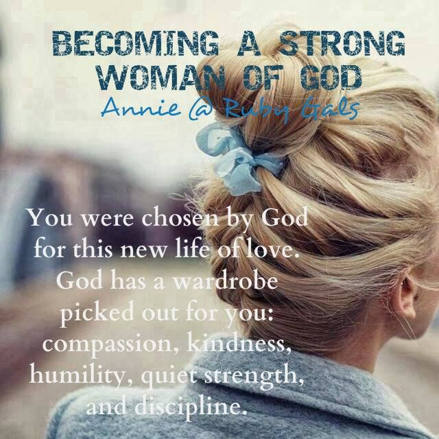 My Dear Friends, We Are So Blessed To Be Women. The LORD