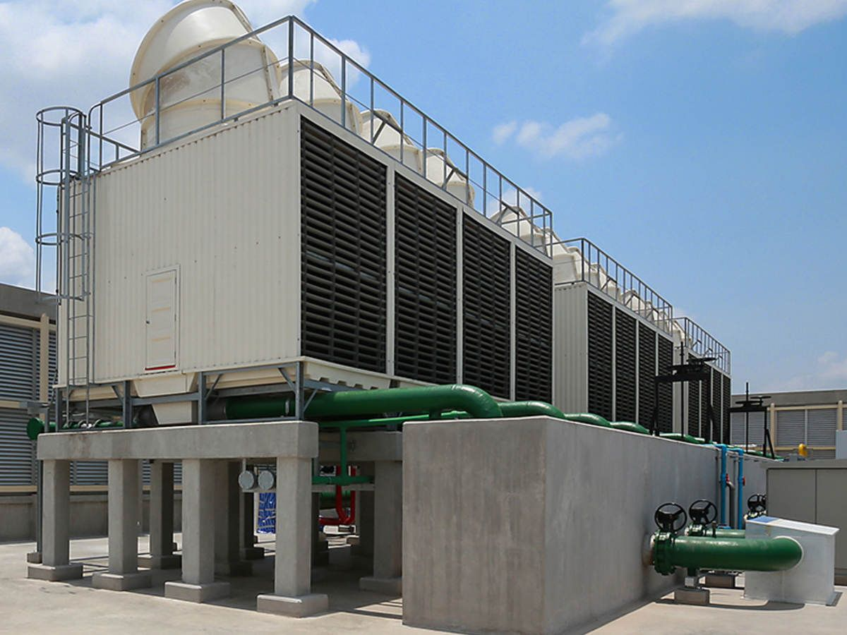 Global Cooling Towers Market By Type Open Circuit Cooling Towers