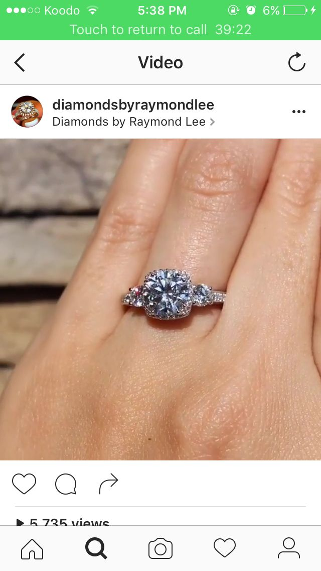 I swear all I do is look at engagement rings on Instagram...
