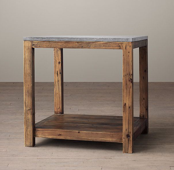 Rh Bluestone Coffee Table
