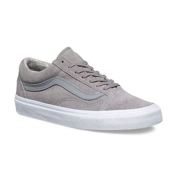 size 7 in boys or 8.5 in girls Suede Woven Old Skool