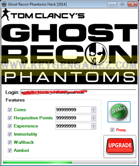 Ghost Recon Online hack (Mac os), iOS, Android