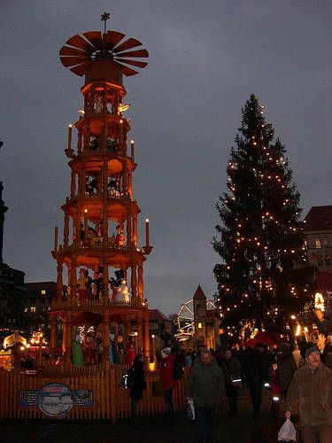 the christmas market in dresden is the oldest christmas fair in germany and