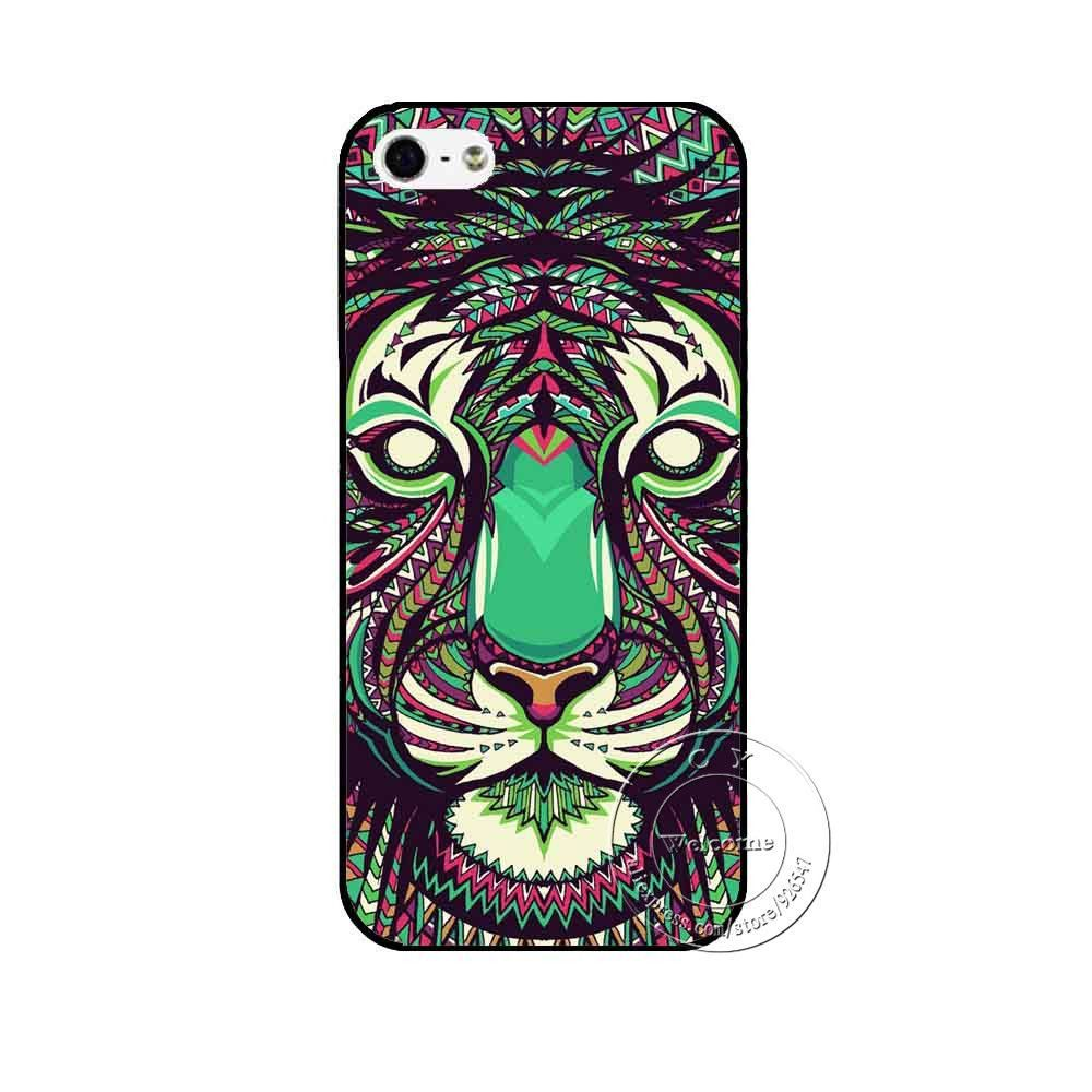 New Super Hot Fashion Animal Designs Shell Hard Back Case Cover For Apple iPhone 4 4S 4G 5 5S 5G SE