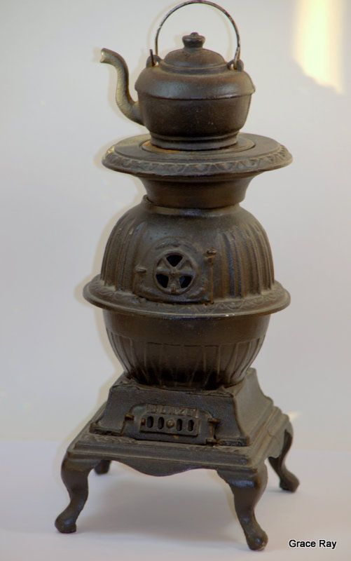 Details About Vintage Cast Iron Stove Salesman Sample