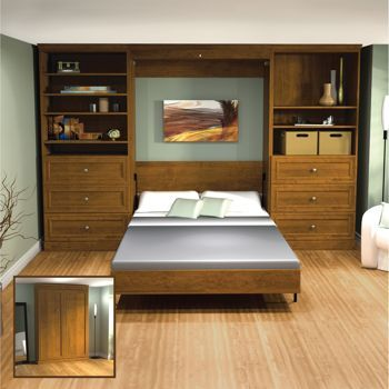 Costco: Bestar Studio Wall Unit with Full Bed--for the ...