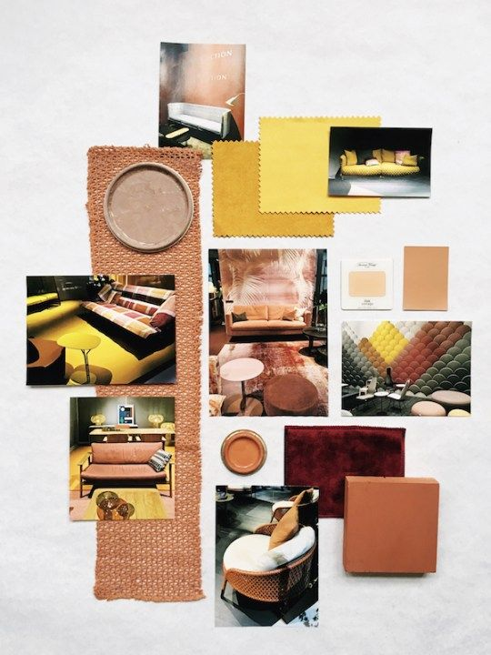 How to translate a color trend into a mood board? - Eclectic Trends