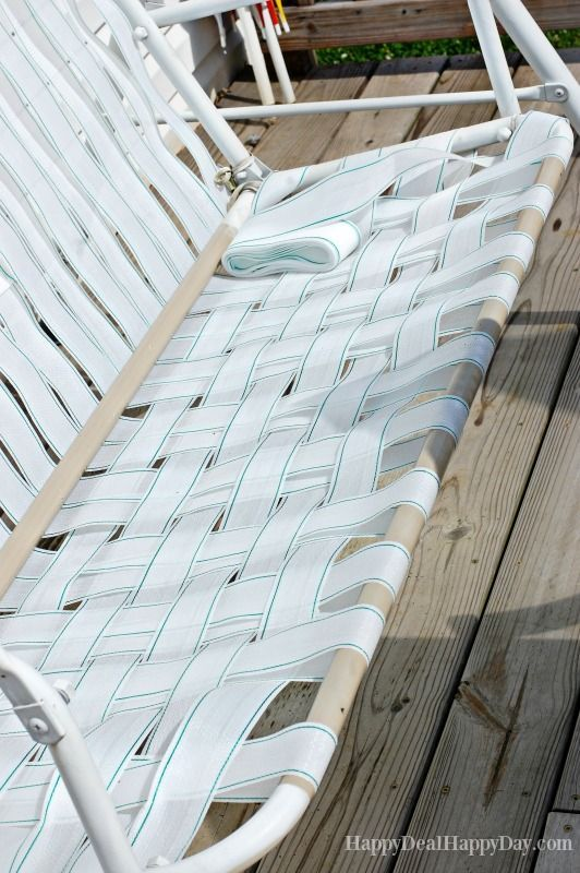 How To Fix Broken Canvas On A Porch Swing Outdoor Patio
