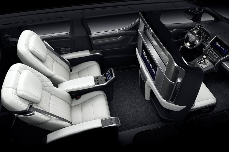 Lexus Unveils The Lm Luxury People Mover Man Of Many In 2020 Mini Van Luxury Van Lexus