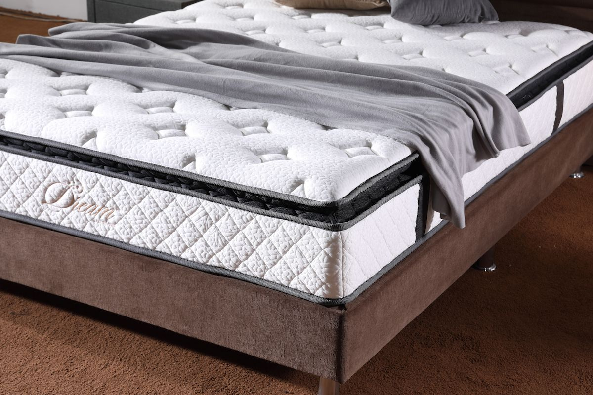my president hotel pocket spring mattress and storage bed frame at