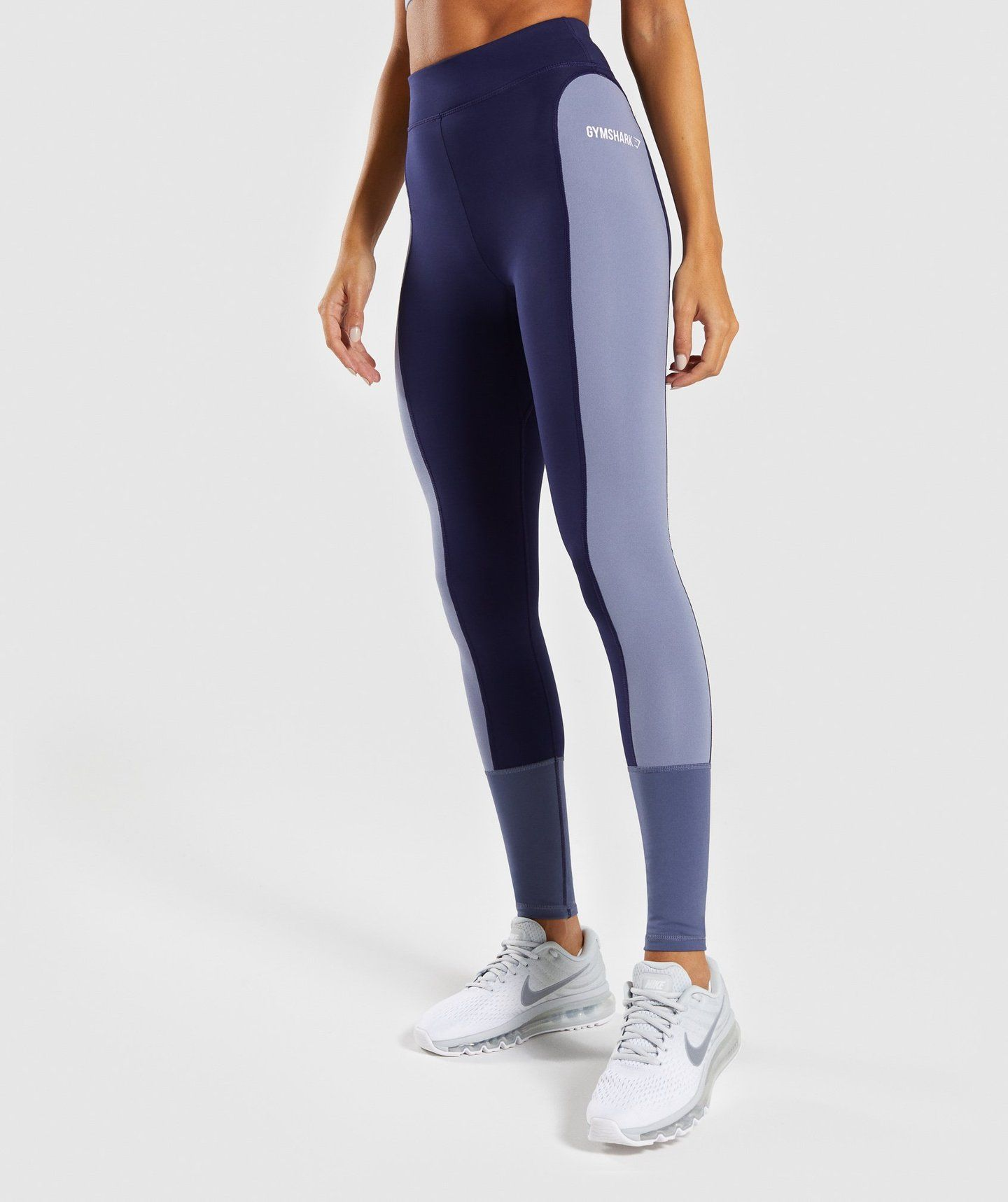 6c0b35220ced5 Gymshark Illusion Leggings - Evening Navy Blue/Steel Blue/Night ...