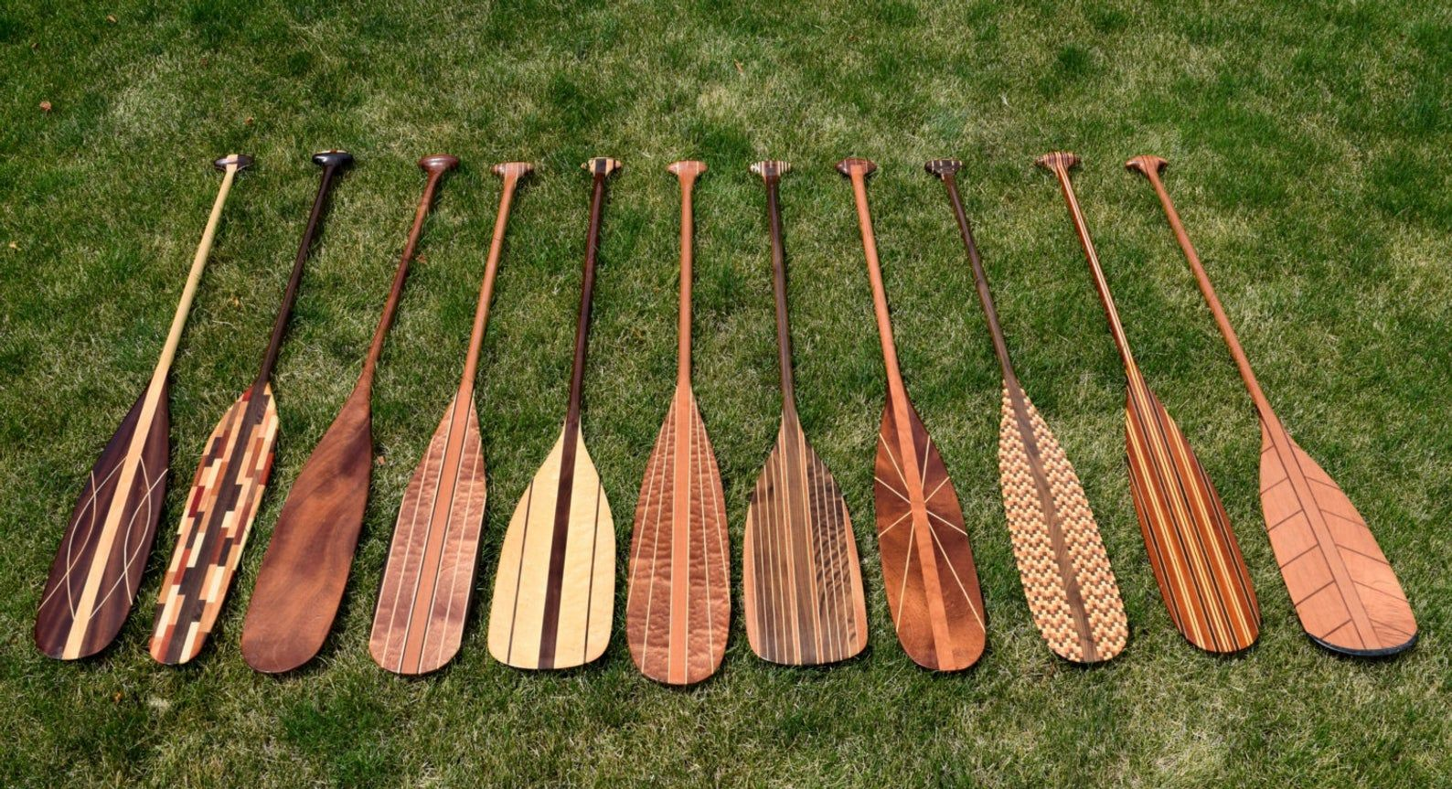 Photo of Custom handcrafted Kayak and wooden canoe paddles