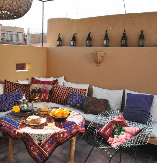 buddha interiors Roof terrace Pinterest