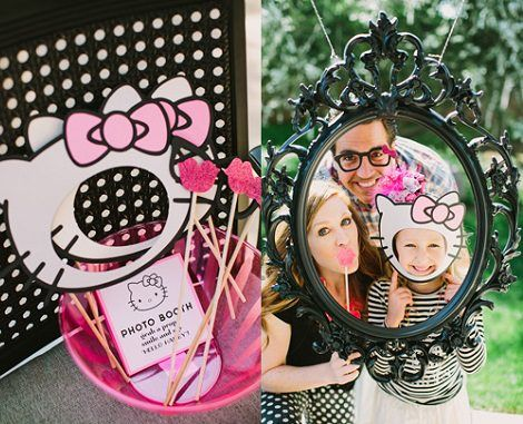 ideas fciles para la decoracin de una fiesta de hello kitty en casa