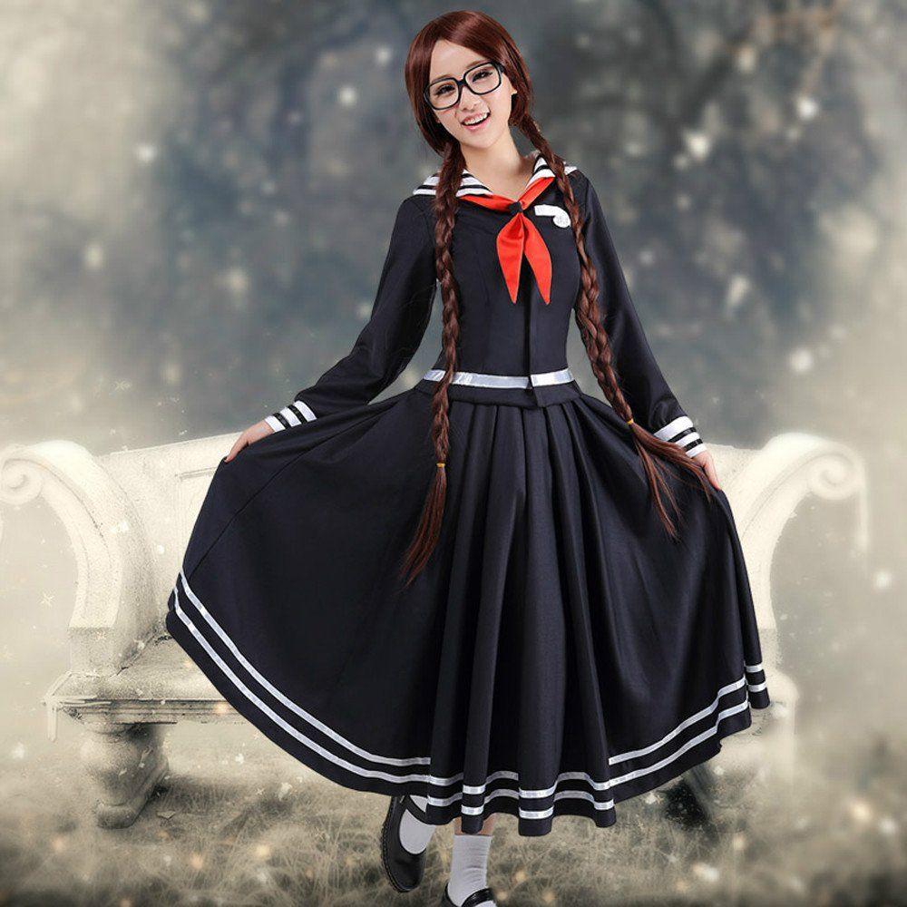 Anime Danganronpa Kusakawa Fuyuko cosplay Costume for