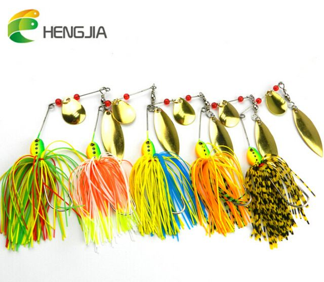 Quality Outdoor Bass Fishing Lures Crank Bait Metal-sequins Minnow Fish Hook