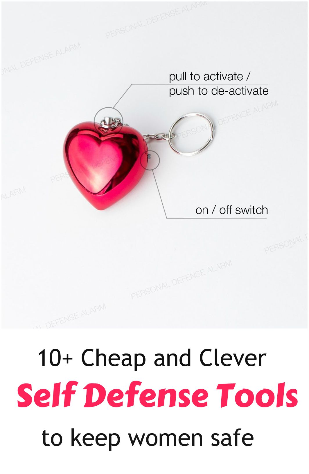 10+ Cheap And Clever Self Defense Tools To Keep Women Safe ... see more at  InventorSpot.com fac5e75bb4