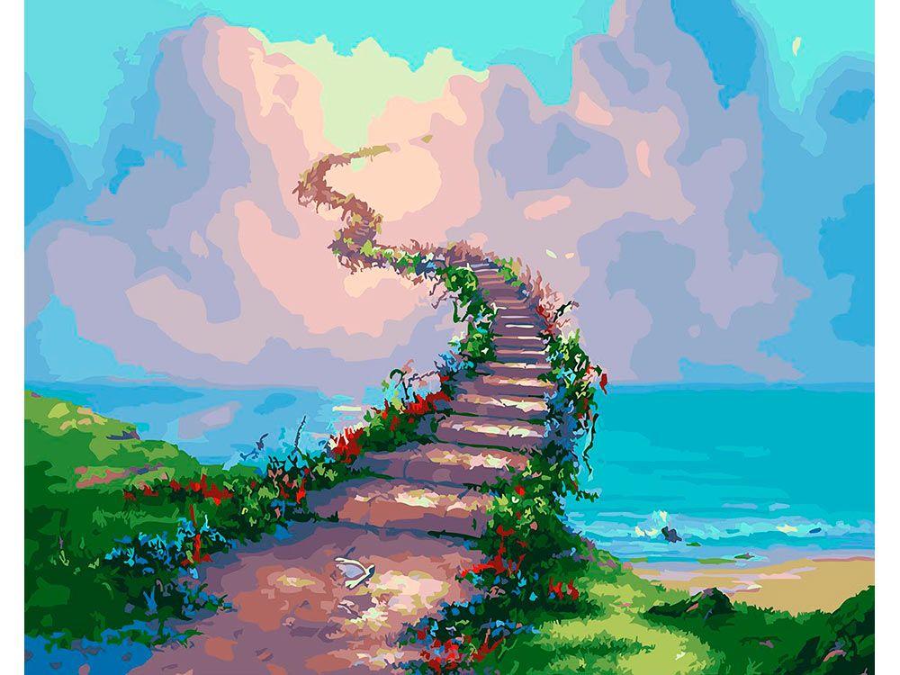 Картина по номерам «Дорога в Рай» | Картины, Пейзажи, Природа