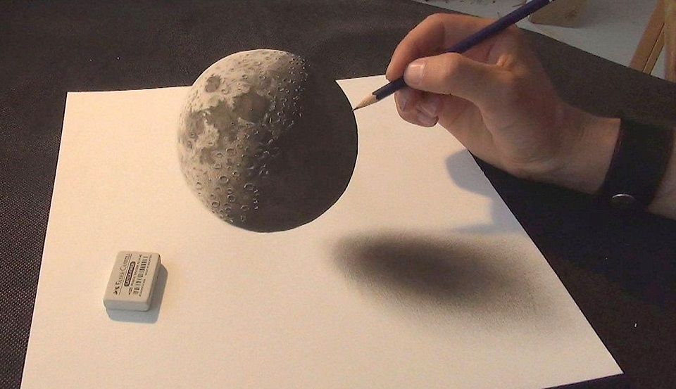 images3d5  I LOVE ART  Pinterest  3d Drawings and 3d drawings
