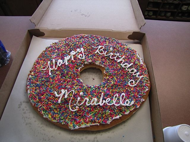 Donut Cake From Allies Donuts