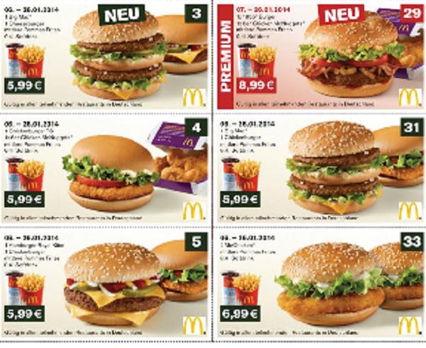 coupons und gutscheine
