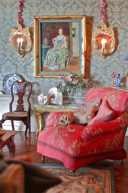 A Beautiful World So Cosy Dollhouse Living Room Furniture Dolls House Interiors
