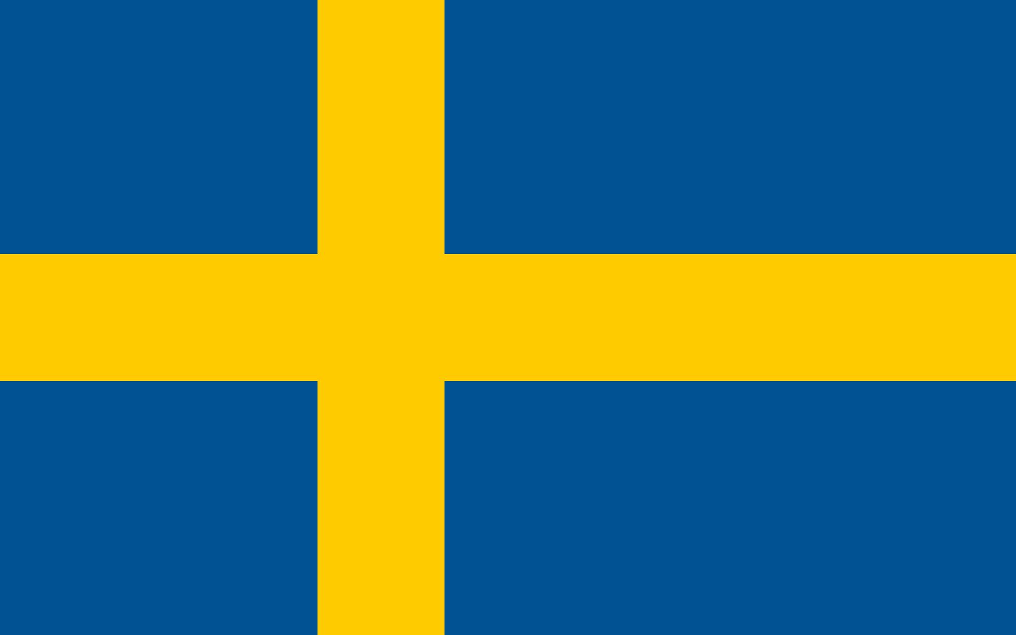 Suecia Sweden Banderas Del Mundo Con Nombres Banderas Del