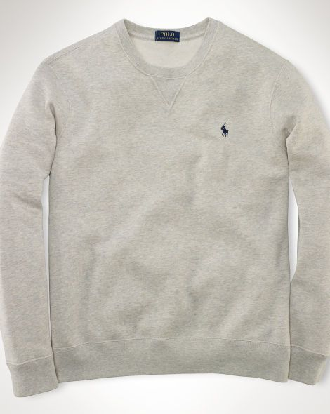 Fleece Crewneck In Wish ColorChristmas Polo Sweatshirt Neutral KJcFT3l1