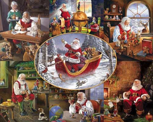 Merry Christmas to All! Christmas Jigsaw Puzzle puzzles