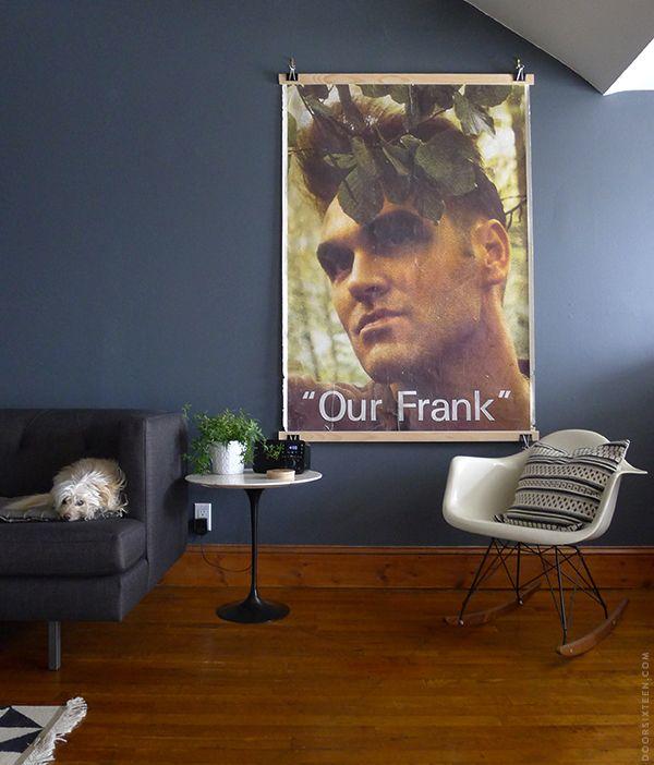 Cheap frameless frame   DoorSixteen   Decorating Ideas   Pinterest ...