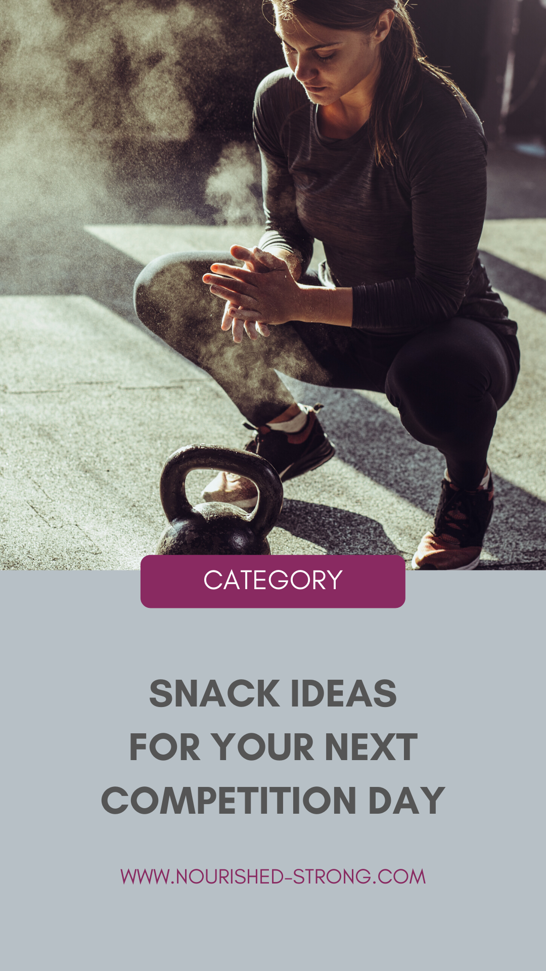 Competition Day Fuel + Snack Suggestions from a Dietitian