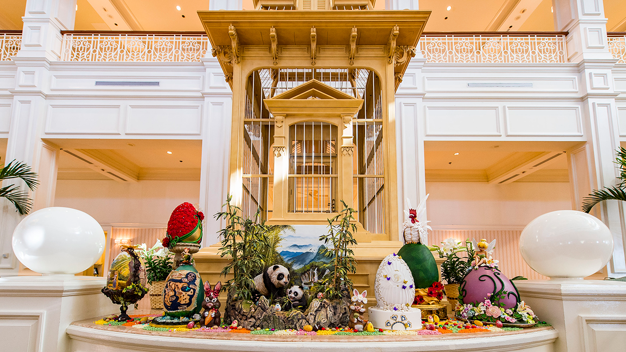 Easter at Grand Floridian