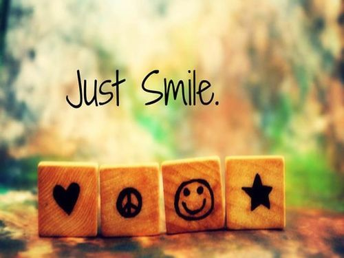 Pin by Tom Weems on Motivation Just smile, Smile