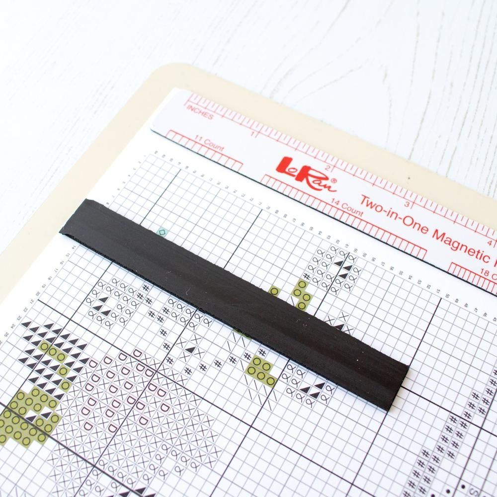 Magnet Board Chart Holder 8 X 10 Modern Cross Stitch Patterns Pattern Holder Magnetic Board