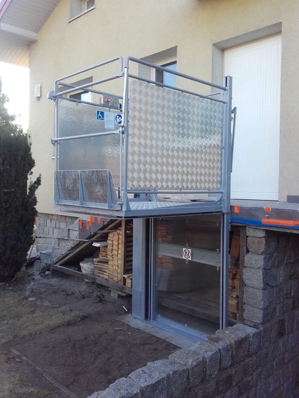 Plattform Aufzug Fahrstuhl für Behinderte Handicap