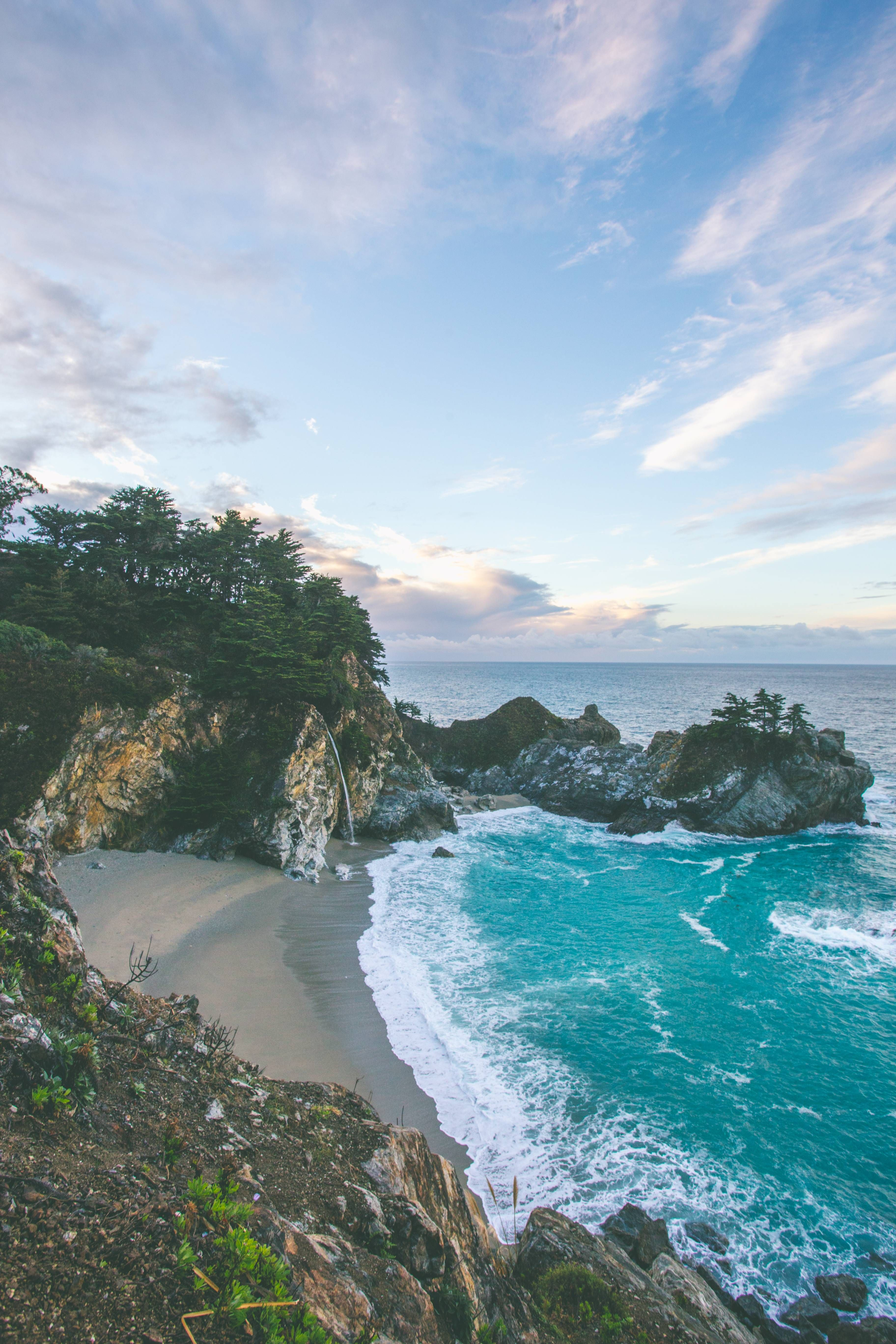 Oc good morning from mcway falls reddit nature