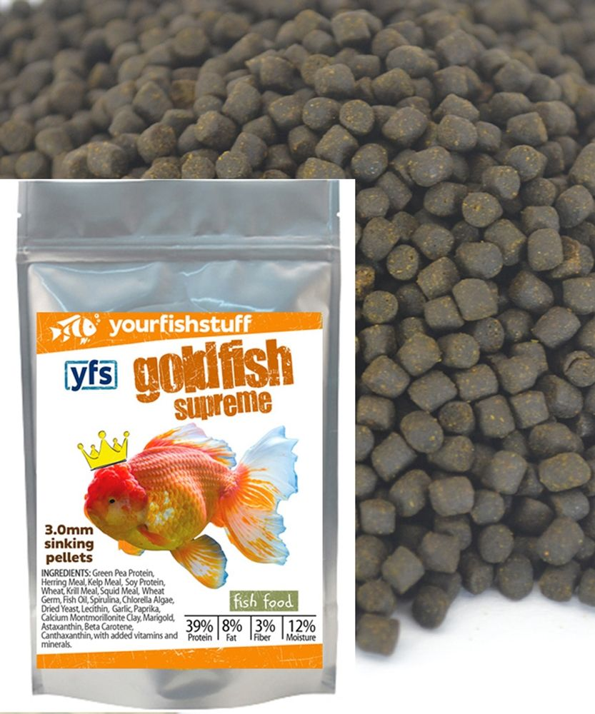 Goldfish Supreme Pellets | Fish Food | Fish recipes